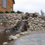 Waterfall Design and Installation Port Washington